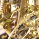 Rare Grasshopper escapement Concorde skeleton clock
