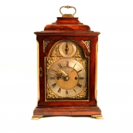 Small striking bracket clock for sale by James Rigby of London.