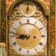 Good green lacquered bracket clock for sale circa 1780.