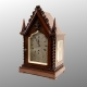 Small chain fusee Library clock by Frodshan of London. Circa 1830.