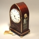 Miniature Regency table clock for sale.