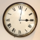Early English Dial fusee wall clock for sale.