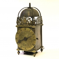 Early English Chamber or Lantern clock by William Selwood.