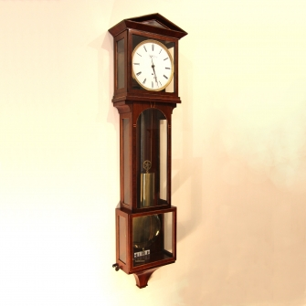 Small high quality Laterndluhr Vienna wall clock for sale.