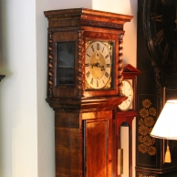 Rare and inportant early longcase clock for sale circa 1690.