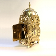 Rare small English Lantern clock for sale by Bishop of Maidstone.