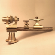 Watchmaker's 8mm IME lathe for sale.