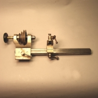 6mm Watchmaker's lathe for sale. Incomplete.