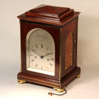 Small Bracket clock by James McCabe Circa 1830 for sale. Numbered 1658.