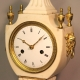 Regency urn style French mantel clock for sale. Circa 1820.