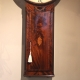 Tavern clock by James Barfoot of Wimbourn (Wimbourne, Dorset). Having a mahogany case. Circa 1790.