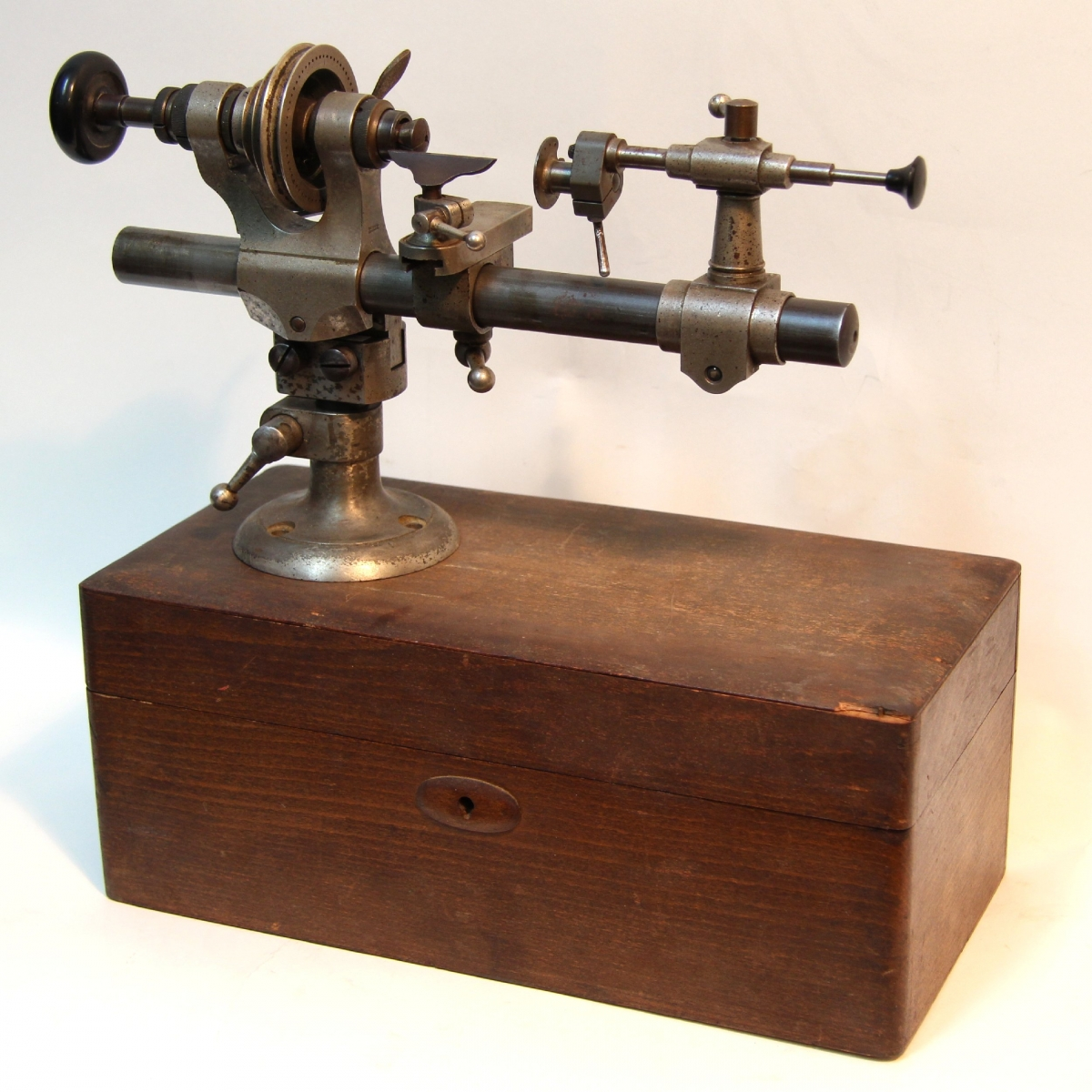8mm Watchmaker S Lathe For Sale German Circa Early 20th
