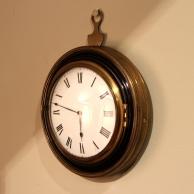 Sedan clock. English regency period and totally original including movement. Circa 1810.