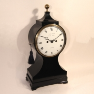 Striking English Balloon bracket clock by John Frant, Fleet Street London. Circa 1790.