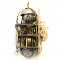 Musical Lantern or Chamber clock by Samuel Smith of London. Circa 1725.