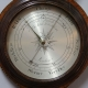 Rare and Early 'Sheraton' banjo barometer of the first period by Walter Gough, London. Cir