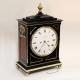 Regency Chamfer top bracket/table clock by Brockbanks & Atkins.