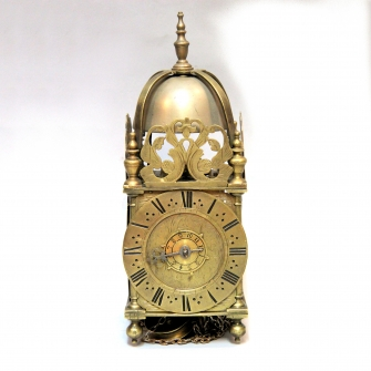Small striking Lantern clock. English Circa 1690.