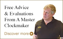 Free Advice & Evaluations From A Master Clockmaker