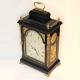 Rare Georgian bracket clock with silent escapement by Upjohn.
