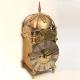 Converted English Lantern clock originally circa 1670. Maker: John Harris of London.
