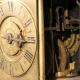 Rare half hour striking, one day duration, English Lantern clock with verge escapement. circa 1670.