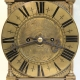 17th century and later, English Lantern clock with double fusee movement. Originally Circa 1690.