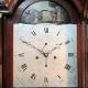 Automata dial, mahogany longcase clock by John Morse, Southampton. Circa 1790.