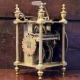 Rare and important, first period lantern clock attributed to Peter Closon. Circa 1635.