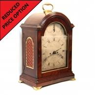 Georgian Verge escapement bracket clock.