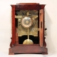 English Fusee, 5-glass, striking Library clock in a mahogany case by Merrick, Windsor & Eton. Ci