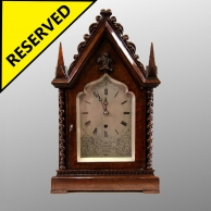 GOTHIC MANTEL CLOCK