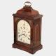 Mahogany, verge escapement table clock by Hunter & Son, London. Circa 1810.