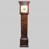 A fine, walnut, month duration timepiece longcase clock by Daniel Le Count. Circa 1700.