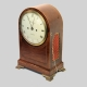 Regency arched striking bracket clock by Brockbanks. In a mahogany case circa 1810.