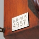 British Railways (Western Region) 8 inch fusee dial clock. Numbered 4957. Circa 1880.