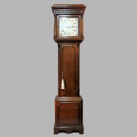 An oak thirty hour longcase clock by James Joyce of Whitchurch, Shropshire. Circa: 1790.