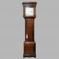 An oak thirty hour longcase clock by James Joyce of Whitchurch, Shropshire. Circa: 1790.