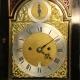 Ebonised, inverted bell-top bracket clock by eminent maker John Ellicott, London. Circa 1770.