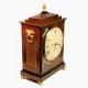 A Regency period, striking, Chamfer-top bracket clock by William Vesper of London, having a mahogany