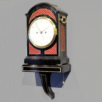 Georgian Verge bracket clock.