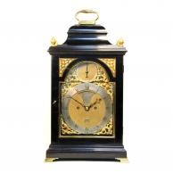 Georgian bell top bracket clock by Richard Comber of Lewes. Circa 1780.