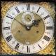 A fine and rare, early English 'black marquetry' longcase clock by Solomon Bouquet. Circa