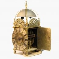 17th century English Lantern clock. Circa 1685.
