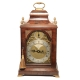 A good Bell top, walnut table clock by John Taylor of London. Circa 1780.