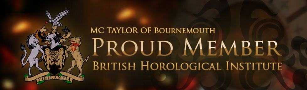Proud Member of the British Horological Institute