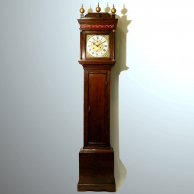 Longcase clock by Everard Billington