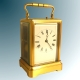 Drocourt early one piece strike repeating carriage clock.