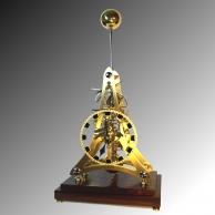 Rare Concorde skeleton clock