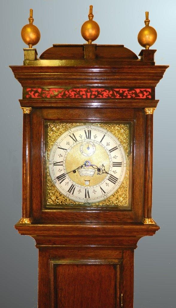 Longcase clock by Everard Billington